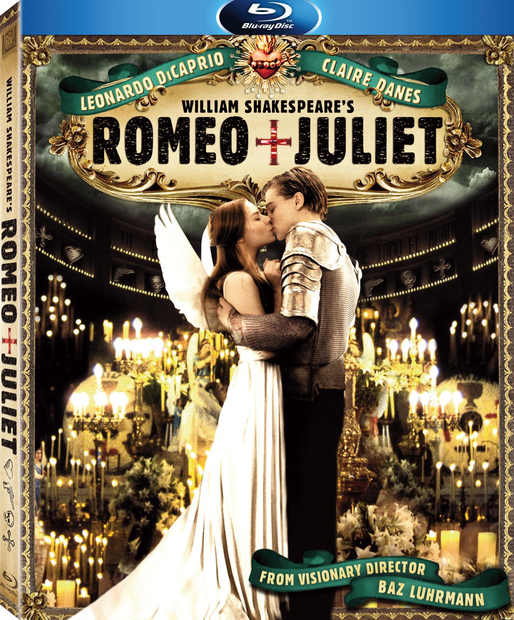 William Shakespeare's Romeo + Juliet Blu-Ray – fílmico